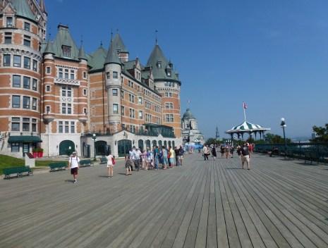 Terrasse Dufferin in Québec, Canada