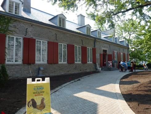 Château Ramezay in Vieaux-Montréal, Québec, Canada