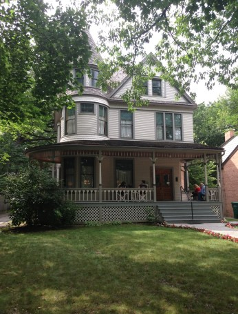 Ernest Hemingway Birthplace in Oak Park, Illinois