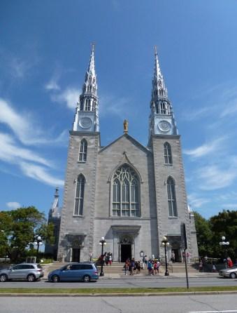 Cathédrale Notre-Dame in Ottawa, Ontario, Canada