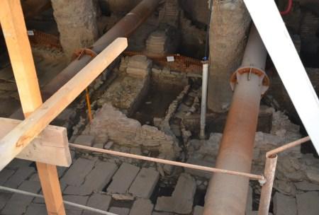 Via Egnatia excavation in Thessaloniki, Greece