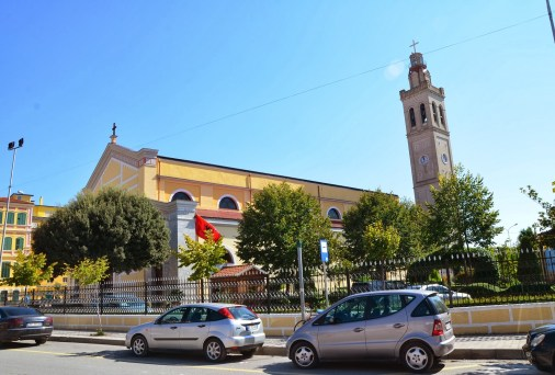 St. Stephen's Catholic Cathedral in Shkodër, Albania