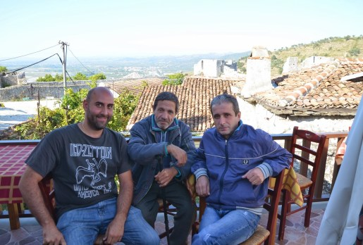 Me with my new friends from Berat, Albania