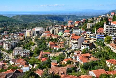 View of Krujë in Krujë, Albania