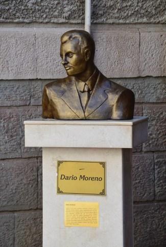 Bust of Dario Moreno in Izmir, Turkey