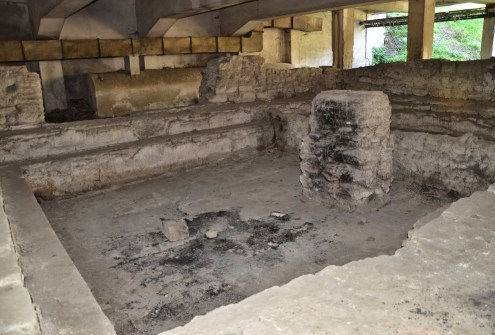 Roman bath in Durrës, Albania