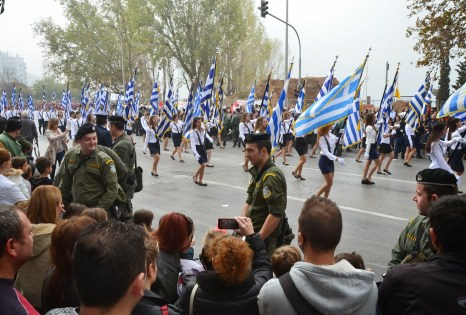 2013 Oxi Day Parade in Thessaloniki, Greece