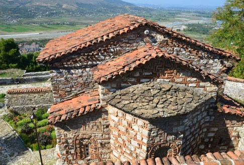 Church of Panagia Vlaherna in Berat, Albania