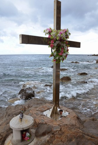 St. Markella martyrdom site in Chios, Greece