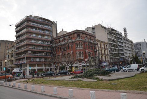 Longos Mansion in Thessaloniki, Greece