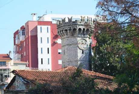 English Tower in Shkodër, Albania