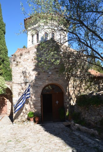 Chapel of the Holy Cross at Nea Moni in Chios, Greece