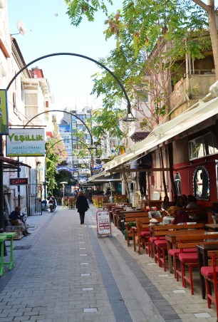 Alsancak in Izmir, Turkey