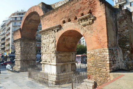 Arch of Galerius in Thessaloniki, Greece