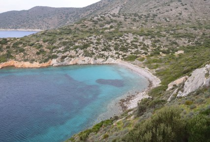 Hidden cove at Knidos on Datça Peninsula, Turkey