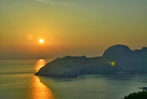 Sunset on Datça Peninsula, Turkey
