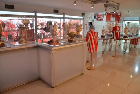 Olympiakos Museum in Piraeus, Greece