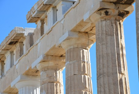 Parthenon at the Acropolis, Athens, Greece