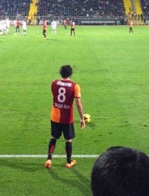 Selçuk İnan at Kasımpaşa vs Galatasaray at Recep Tayyip Erdoğan Stadyumu, İstanbul, Turkey