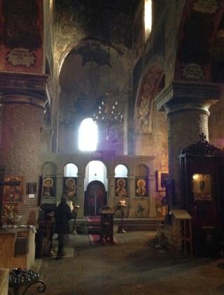 Anchiskhati Basilica in Tbilisi, Georgia