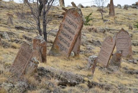 Ottoman cemetery in Sille, Turkey