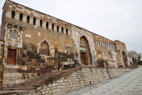 Alâeddin Camii gate in Konya, Turkey