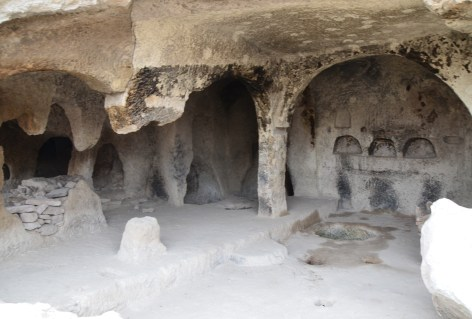 Cave church in Sille, Turkey