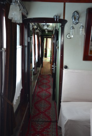 Stalin's rail carriage at the Joseph Stalin Museum in Gori, Georgia