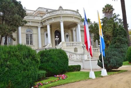 Palacio Rioja in Viña del Mar, Chile