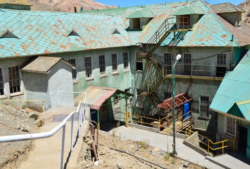 Hospital at Sewell Mining Town, Chile