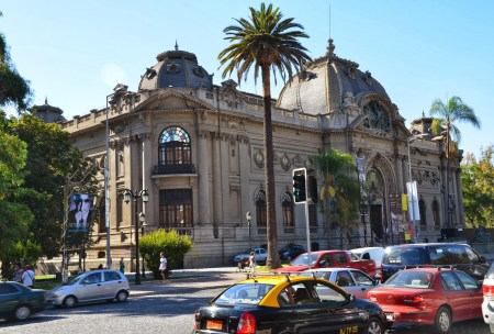Museo de Bellas Artes in Santiago de Chile