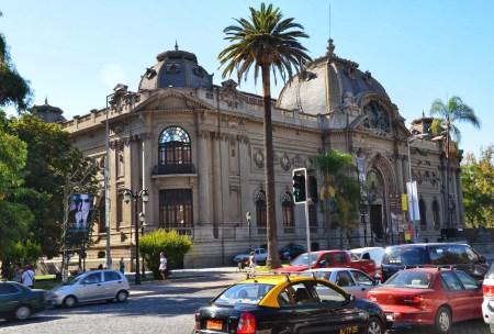 Museo de Bellas Artes in Santiago de Chile