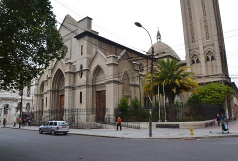 Catedral de Valparaíso in Valparaíso, Chile