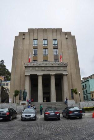 Palacio de la Justicia in Valparaíso, Chile