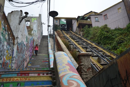 Ascensor Cordillera in Valparaíso, Chile
