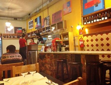 Café Vinilo in Valparaíso, Chile