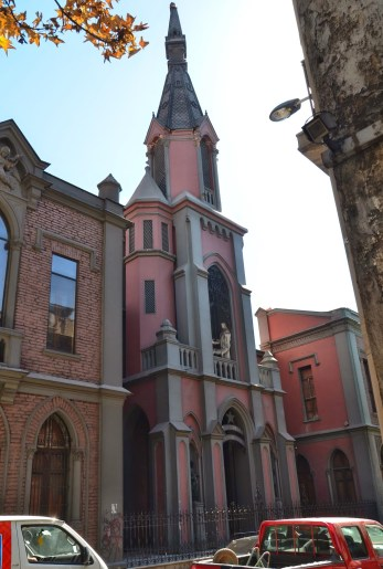 Iglesia de San Pedro in Santiago de Chile