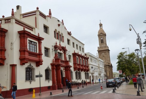 Tribunales de Justicia in La Serena, Chile