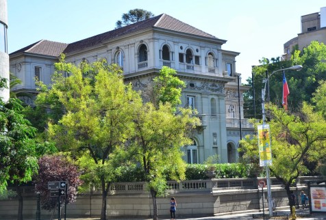 Old US Embassy in Santiago de Chile