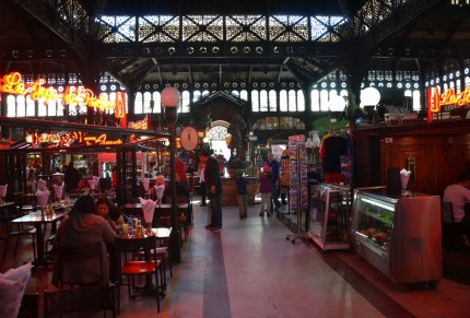 Mercado Central in Santiago de Chile
