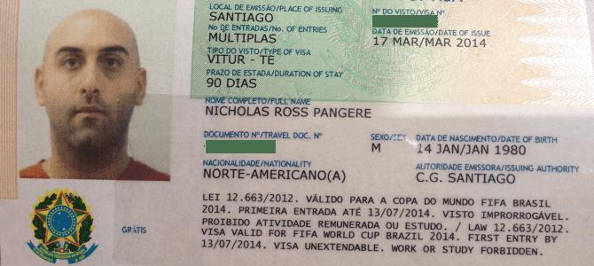 Getting a Brazilian Tourist Visa in Santiago
