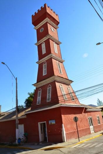 Torre Bauer in Vicuña, Valle del Elqui, Chile