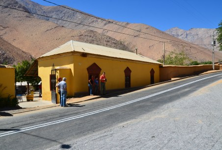 Los Nichos Distillery in Pisco Elqui, Valle del Elqui, Chile