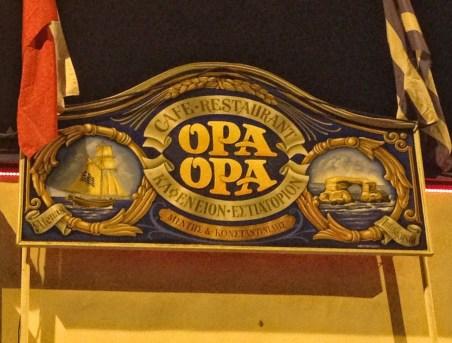 Opa-Opa Comida Griega in Santiago de Chile
