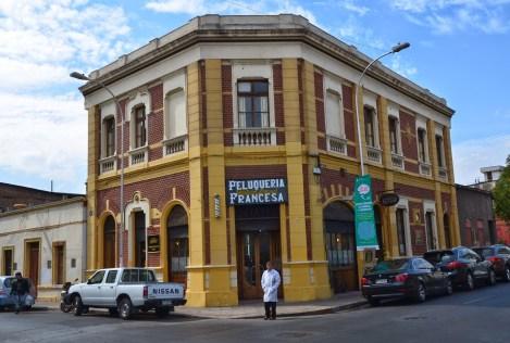 Peluquería Francesa in Barrio Yungay, Santiago de Chile