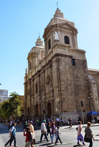 Iglesia de Santo Domingo in Santiago de Chile