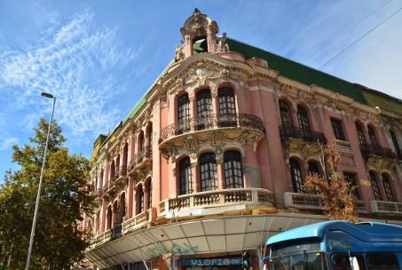 Palacio Íñiguez in Barrio Dieciocho, Santiago de Chile