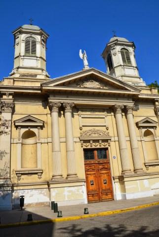 Iglesia de Ángeles Custodios in Santiago de Chile