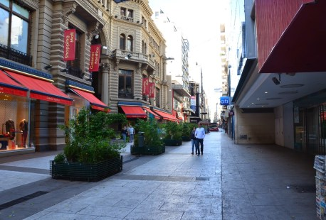 Calle Florida in Buenos Aires, Argentina
