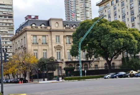 Palacio Bosch in Palermo, Buenos Aires, Argentina